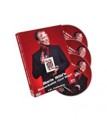 DVD *REMARKABLE CARD MAGIC/3 DVD/BORIS WILD