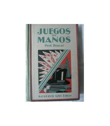JUEGOS DE MANOS /PROFESOR BOSCAR*MAGICANTIC*/24