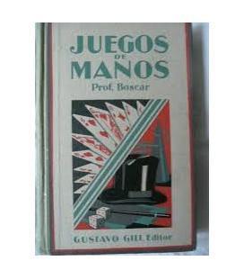 JUEGOS DE MANOS PROFESOR BOSCAR/MAGICANTIC*/26