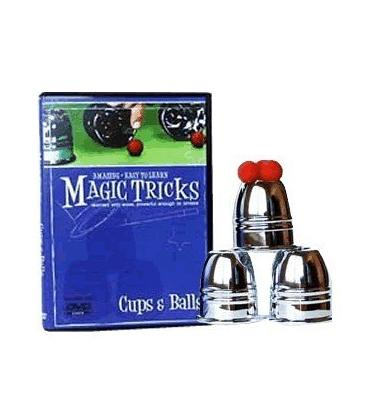 DVD AMAZING CUPS & BALLS
