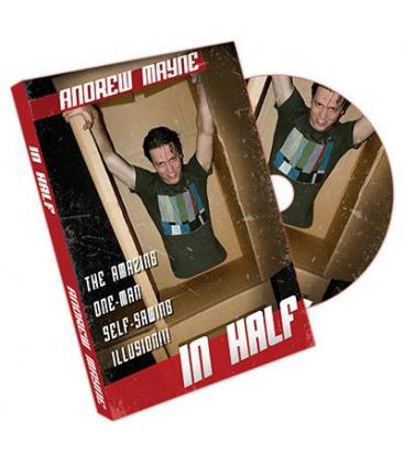 DVD IN HALF BY ANDREW MAYNE